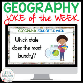 GEOGRAPHY JOKE OF THE WEEK - A Full Year of Side-Splitting Laughs!