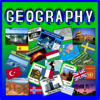 GEOGRAPHY RESOURCES WORLD CLASS DISPLAY KEY STAGE 1-4 DISPLAY