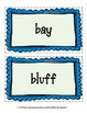 GEOGRAPHY TERMS Word Wall Vocabulary Cards /landforms /water