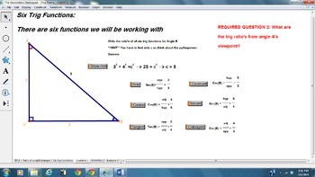 GEOMETER'S SKETCHPAD TRIG LESSONS