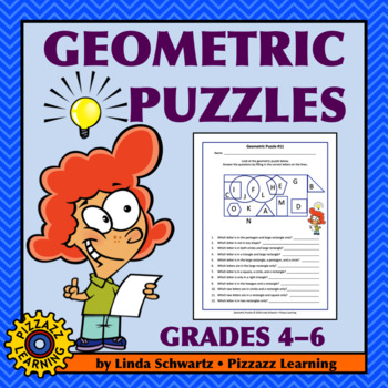 NEW! GEOMETRIC PUZZLES  •  PLUS POSTERS • Early Finisher Activities