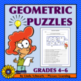 GEOMETRIC PUZZLES  •  PLUS POSTERS • Early Finisher Activities