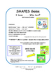 GEOMETRIC SHAPES | Task Card GAME | I have, Who has? | 2D & 3D Shapes | Gr 4 - 5