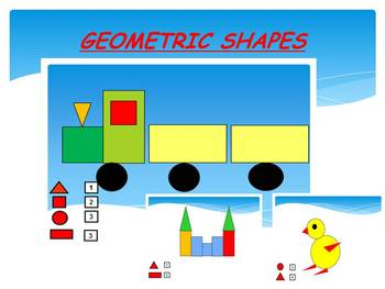 Shapes Math PowerPoint Presentation end of the year activities distance learning