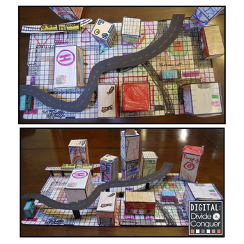 Project Based Learning: GEOMETROCITY!  Build a City of Math with Geometry (PBL)