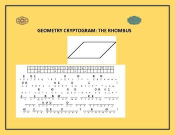 GEOMETRY CRYPTOGRAM: THE RHOMBUS