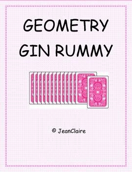 GEOMETRY GIN RUMMY