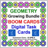 """GEOMETRY """"GROWING"""" BUNDLE: 35 SETS OF """"DIGITAL"""" BOOM CARDS"""