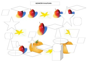 GEOMETRY IN AUTUMN COLORING PAGE