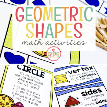 GEOMETRY AND SHAPES: MATH ACTIVITY PACK