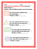 GEOMETRY MATH CENTER ACTIVITY, GRADES 1-3