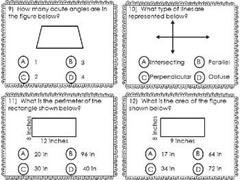 GEOMETRY SCOOT Area, Perimeter, Lines, & Angles