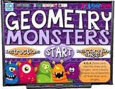 GEOMETRY Monsters PowerPoint Game