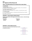 GEOMETRY - Notes Guide - 1.3 Segments and Their Measures (Day 2)