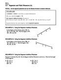 GEOMETRY - Notes Guide - 1.3 Segments and Their Measures
