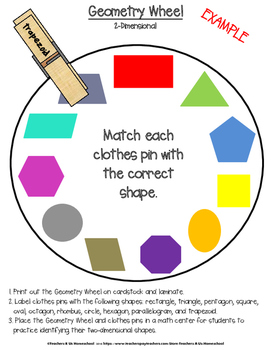 GEOMETRY PACKAGE: 3rd - 5th Grade