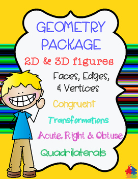 GEOMETRY PACKAGE: 3rd - 5th Grade