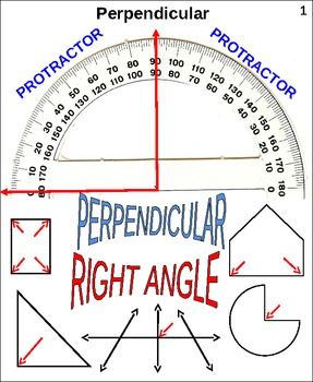 Geometry Perpendicular: Finding Right Angles (animated)