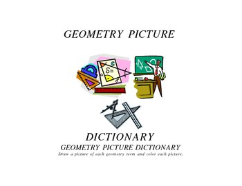 GEOMETRY PICTURE DICTIONARY