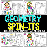 GEOMETRY Spin-Its Math Stations