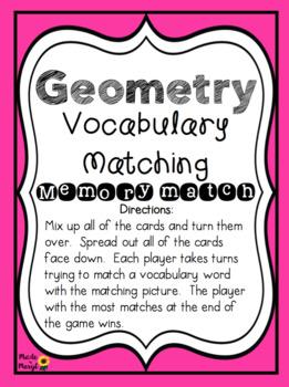 GEOMETRY VOCABULARY MATCHING