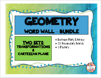 GEOMETRY - Word Wall Mini Bundle (Math Literacy)