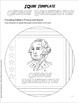 GEORGE WASHINGTON: An IQubes Freebie Foldable by GravoisFare