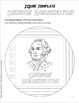 GEORGE WASHINGTON: An IQubes Freebie Foldable for President's Day