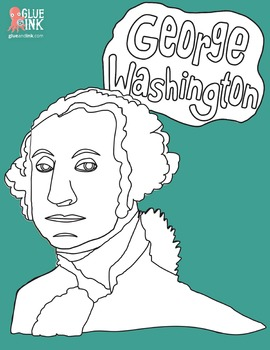 George Washington Clip Art – Commercial Use