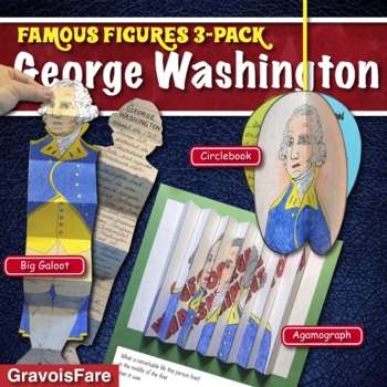 GEORGE WASHINGTON ACTIVITIES: 3 Hands-On Projects and Foldable Craftivities