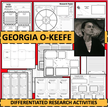 GEORGIA O'KEEFE Biographical Biography Research Activities