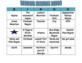 GEORGIA REGIONS BINGO CARD 5