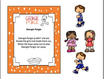 GEORGIE PORGIE NURSERY RHYME
