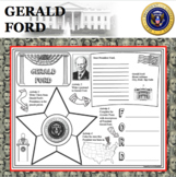 GERALD FORD POSTER U.S. President Research Project Biography