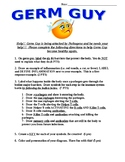 GERM GUY- An assessment of the immune system process