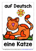 GERMAN FOR CHILDREN - 20 ANIMALS POSTERS / FLASHCARDS (1)
