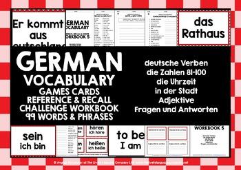 GERMAN BEGINNERS VOCABULARY 5