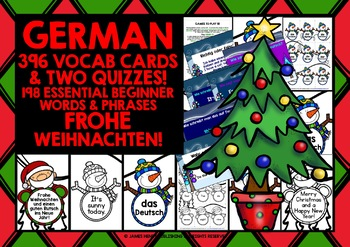GERMAN CHRISTMAS DESIGN GAMES & QUIZZES