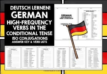 GERMAN HIGH-FREQUENCY VERBS CONJUGATION #5