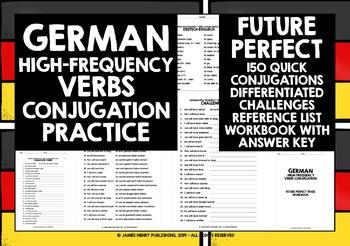 GERMAN HIGH-FREQUENCY VERBS CONJUGATION #7