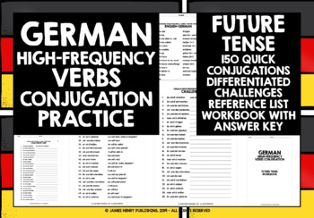 GERMAN HIGH-FREQUENCY VERBS CONJUGATION #4