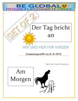 (German Language) Am Morgen: 2 Short Stories for beginners of German Studies