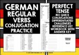 GERMAN REGULAR VERBS CONJUGATION #2 DISTANCE LEARNING