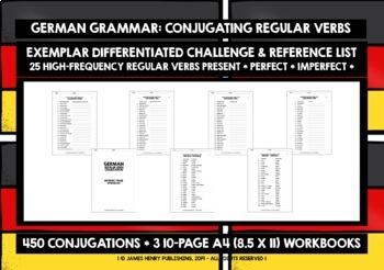 GERMAN REGULAR VERBS WORKBOOKS