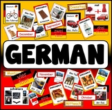 GERMAN RESOURCES display posters flashcards colours food animals numbers etc