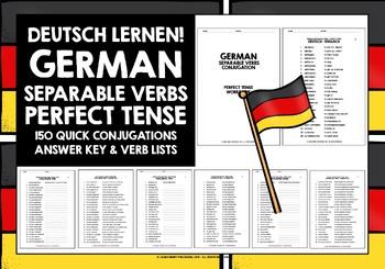 GERMAN SEPARABLE VERBS #2