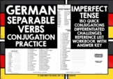 GERMAN SEPARABLE VERBS CONJUGATION #3 DISTANCE LEARNING