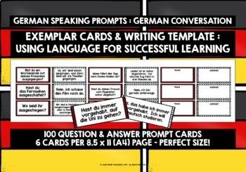GERMAN CONVERSATION CARDS 4