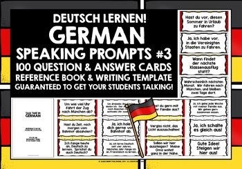 GERMAN CONVERSATION CARDS 3