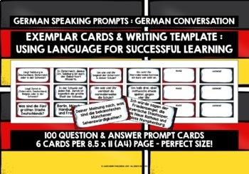 GERMAN CONVERSATION CARDS 2